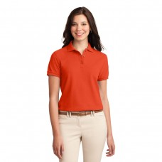 Orange Polo (Ladies Port Authority)
