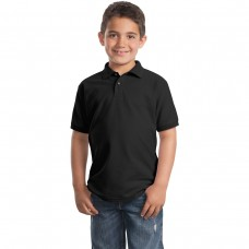 Black Polo (Youth Port Authority)