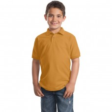 Gold Polo (Youth Port Authority)